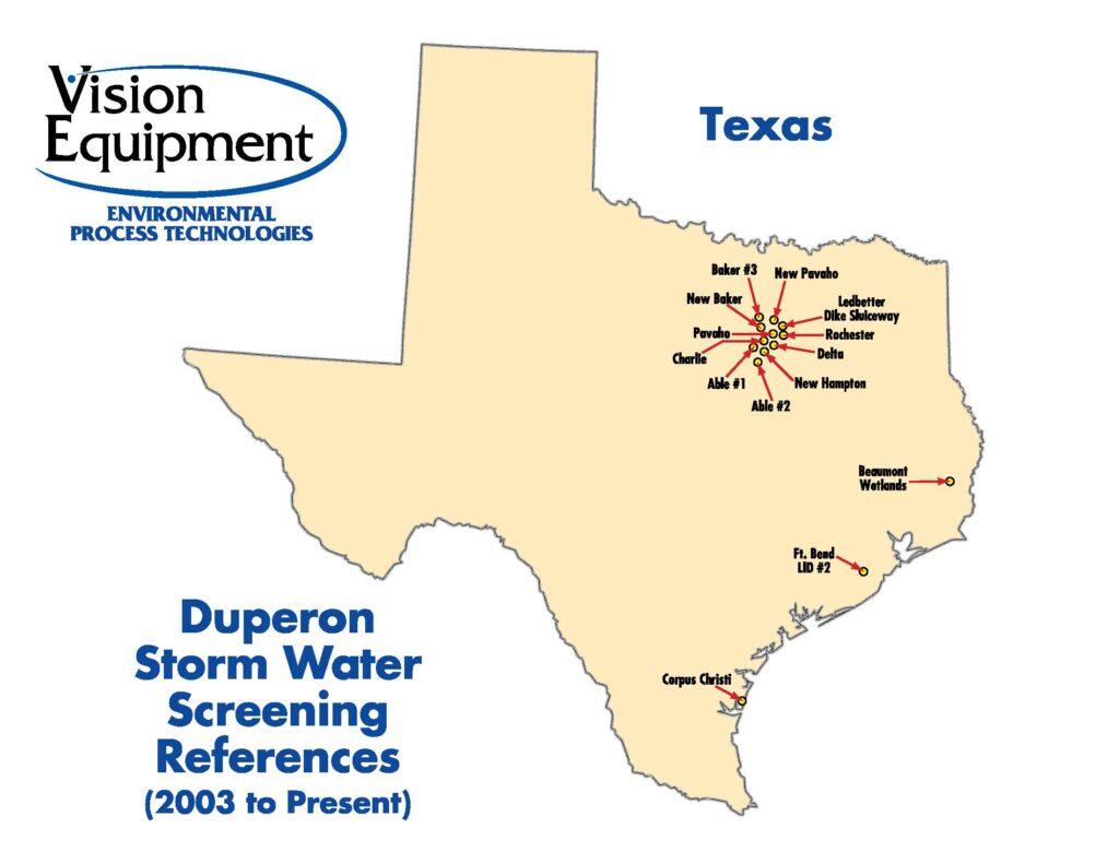 Storm Water Intake Map - Duperon